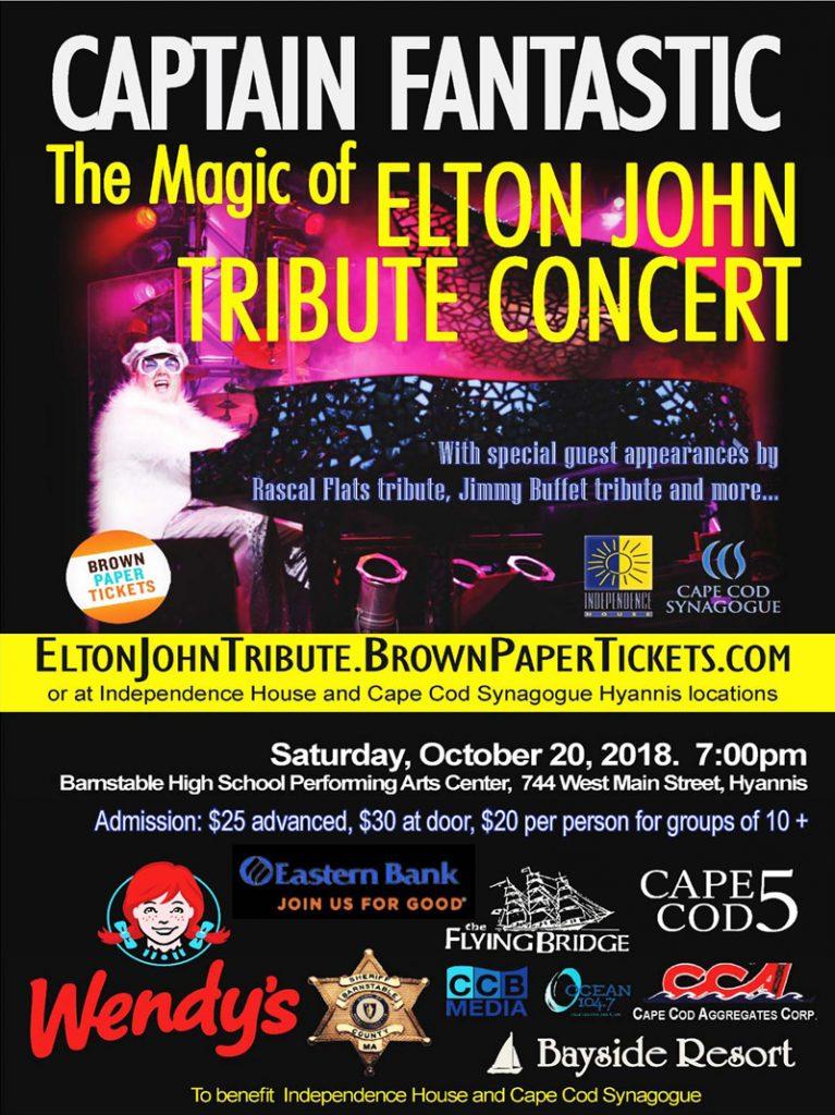 Captain Fantastic-Elton John Tribute Concert @ Barnstable Performing Arts Center | Barnstable | Massachusetts | United States