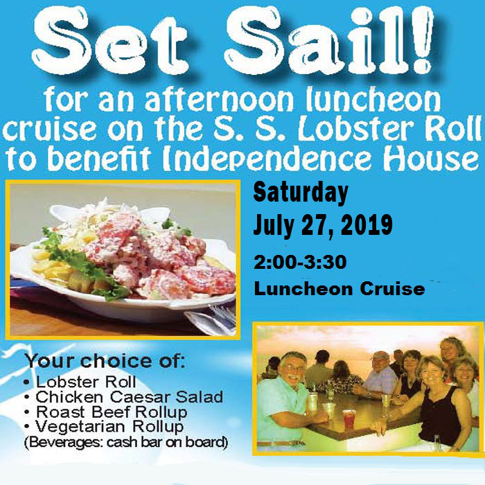 Set Sail on a Lobster Roll Luncheon Cruise with Independence House @ S. S. Lobster Roll Cruise