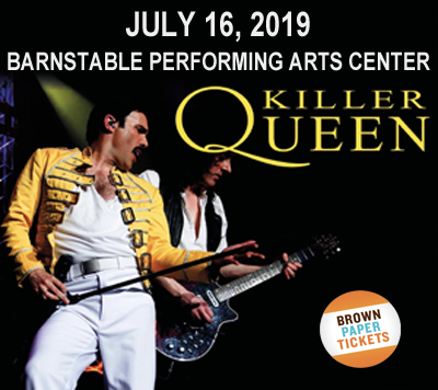 Killer Queen to benefit Independence House & Cape Cod Synagogue @ Barnstable Performing Arts Center