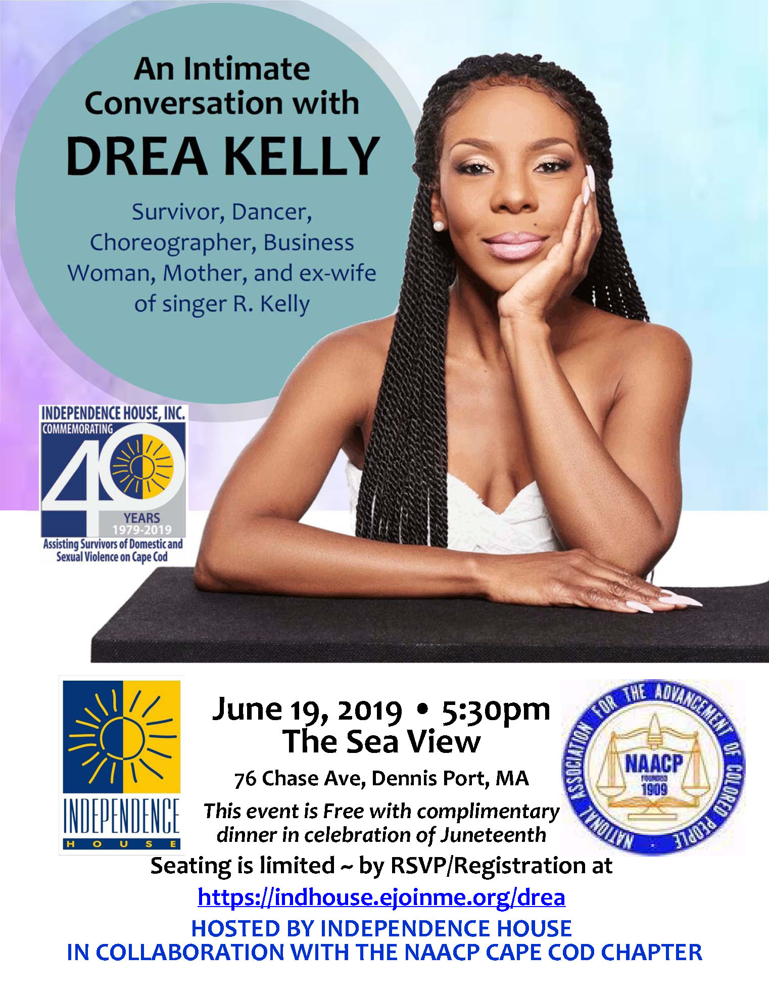 An Intimate Conversation with Drea Kelly @ The Sea View